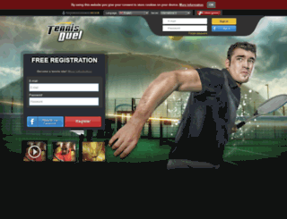 tennisduel.com screenshot