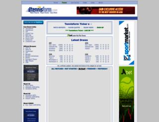 tennisform.com screenshot