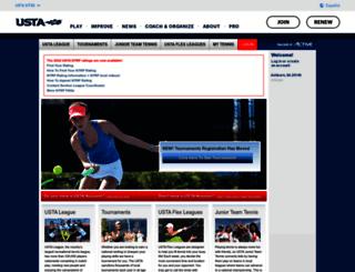 tennislink.usta.com screenshot