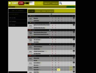 tennislive.net screenshot