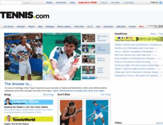tennismagazine.com screenshot