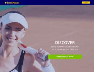 tennismatch.com screenshot