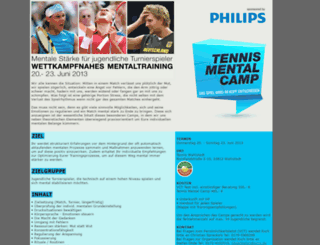 tennismentalcamp.de screenshot