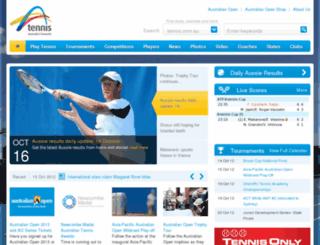 tennisnsw.com.au screenshot