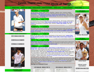 tennistheme.com screenshot