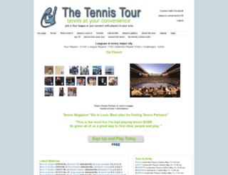 tennistour.org screenshot