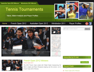 tennistournaments4u.com screenshot