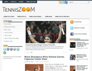 tenniszoom.net screenshot