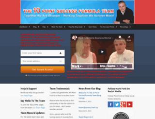 tenpointsuccessformula.com screenshot