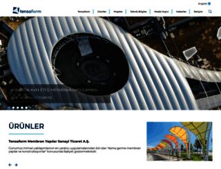 tensaform.com screenshot