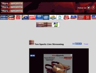 tensportslivestream.92newshd.pk screenshot