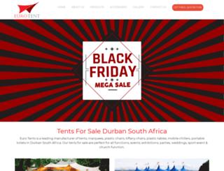 tent.co.za screenshot
