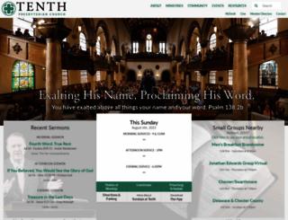tenth.org screenshot