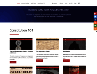 tenthamendmentcenter.com screenshot