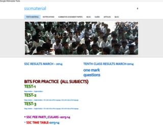 tenthmaterial.weebly.com screenshot