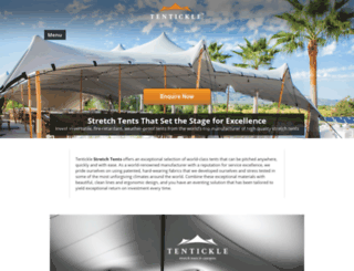 tentickle-stretchtents.com screenshot