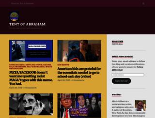 tentofabraham.wordpress.com screenshot