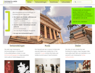 tentoonstellingen-duitsland.nl screenshot