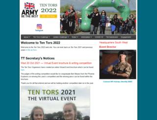 tentors.org.uk screenshot