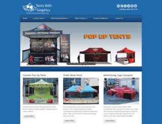 tentswithgraphics.com screenshot