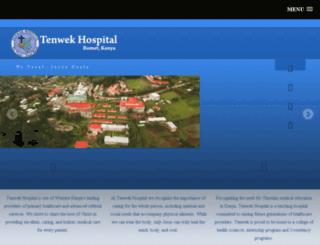 tenwek.com screenshot