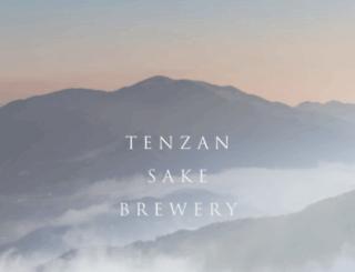 tenzan.co.jp screenshot