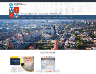 teologie.uaic.ro screenshot