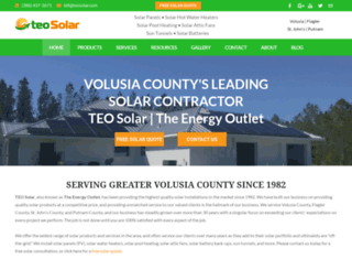 teosolar.com screenshot