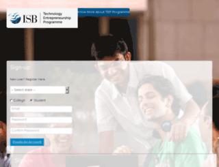 tep.isb.edu screenshot
