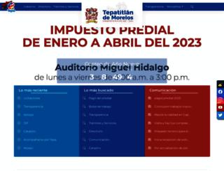 tepatitlan.gob.mx screenshot