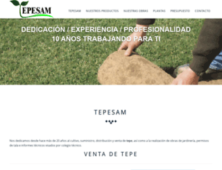 tepesam.es screenshot