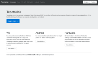tepetaklak.com screenshot