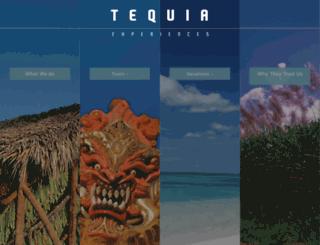 tequiaexperiences.com screenshot