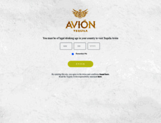 tequilaavion.com screenshot