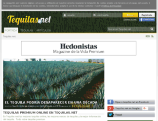tequilas.net screenshot