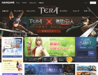 tera.hangame.co.jp screenshot