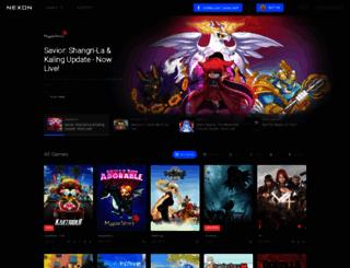 tera.nexon.com screenshot