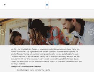 teradataonlinetrainings.com screenshot