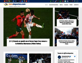 teradeportes.com screenshot