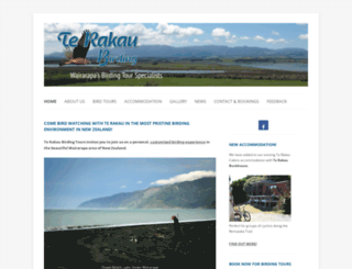 terakaubirding.co.nz screenshot