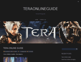 teraonlineguide.net screenshot