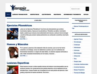 terapia-fisica.com screenshot