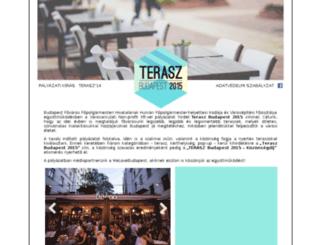 terasz.budapest.hu screenshot