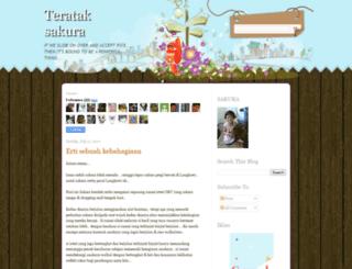 terataksakura.blogspot.com screenshot