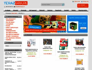 terazgry.pl screenshot
