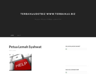 terbaik2u.wordpress.com screenshot