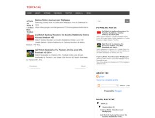 tercacau.blogspot.com screenshot