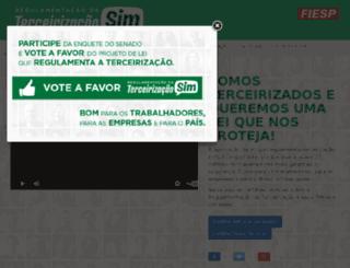 terceirizacaosim.com.br screenshot