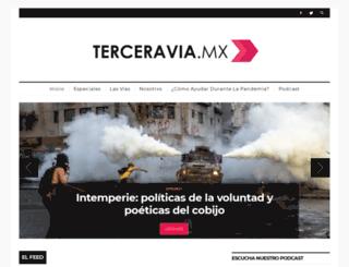 terceravia.mx screenshot