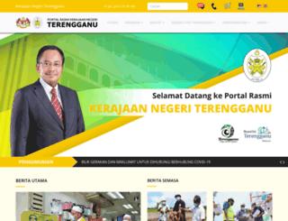 terengganu.gov.my screenshot